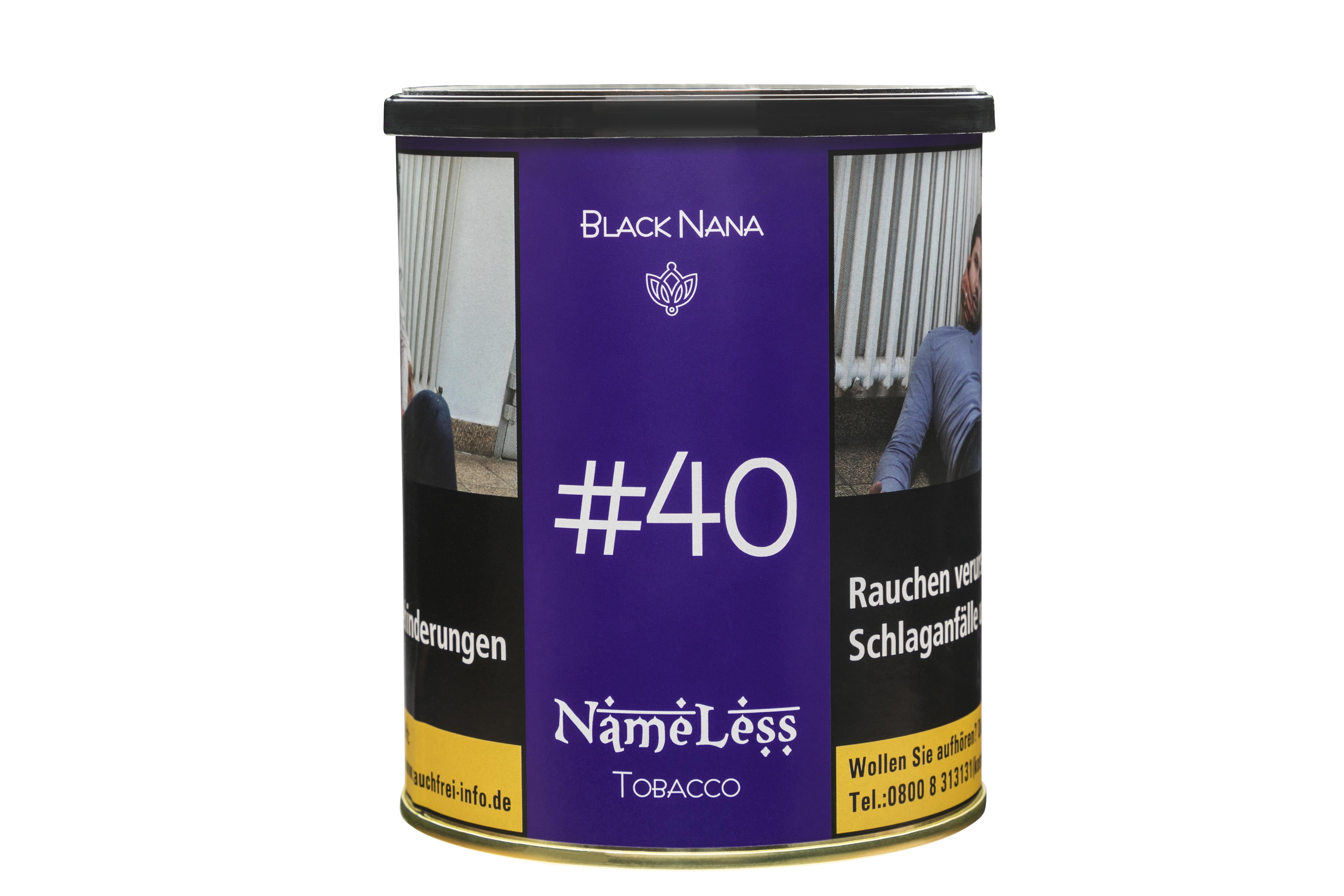 "NameLess ""Black Nana"" SHISHA TABAK  1KG"