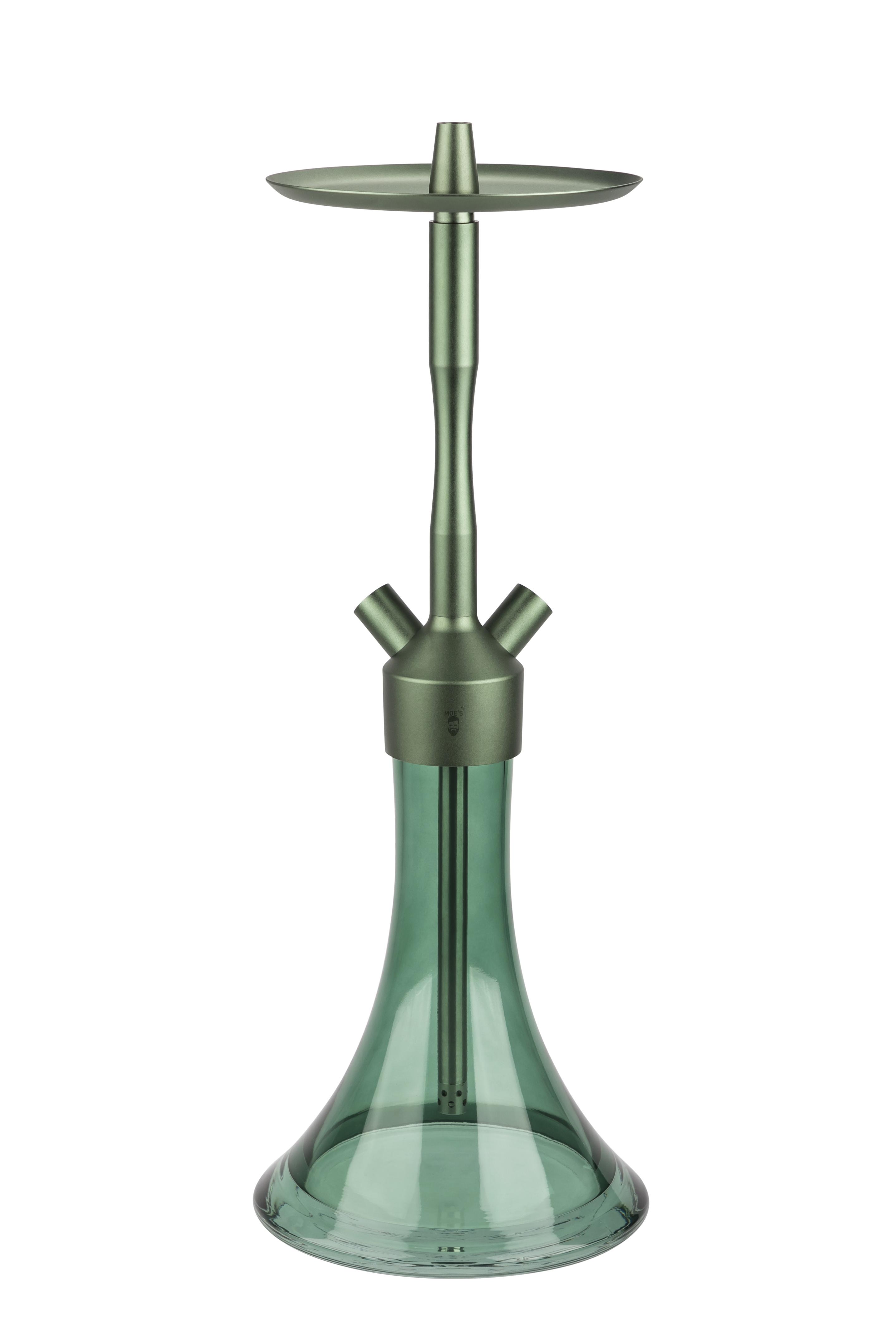 MOE'S WANTED 2U M1 - Aluminium Grün matt / Green matt