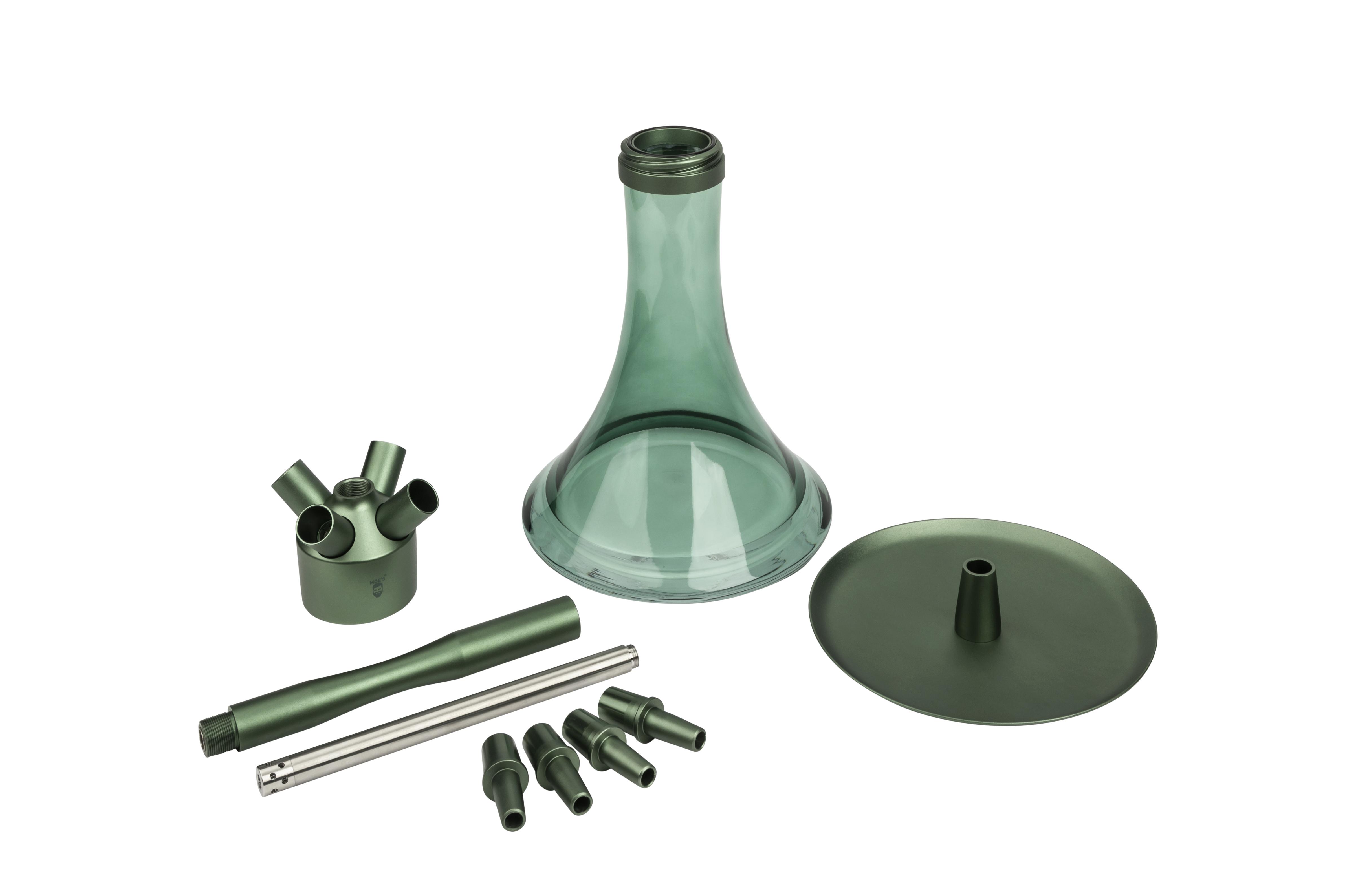 MOE'S WANTED M1 - Aluminium Grün matt