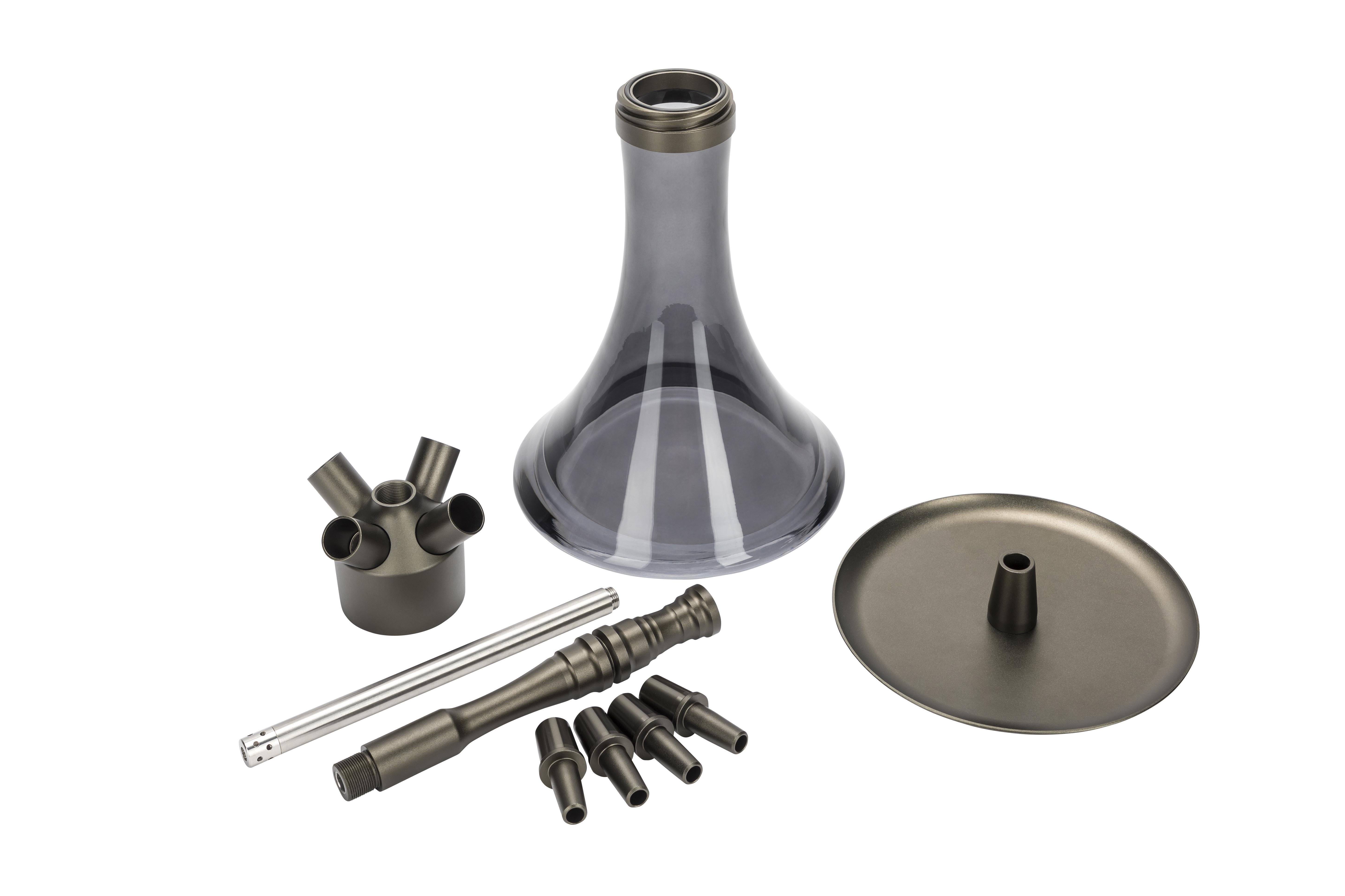 MOE'S WANTED M2 - Aluminium Anthrazit matt / Anthracite matt