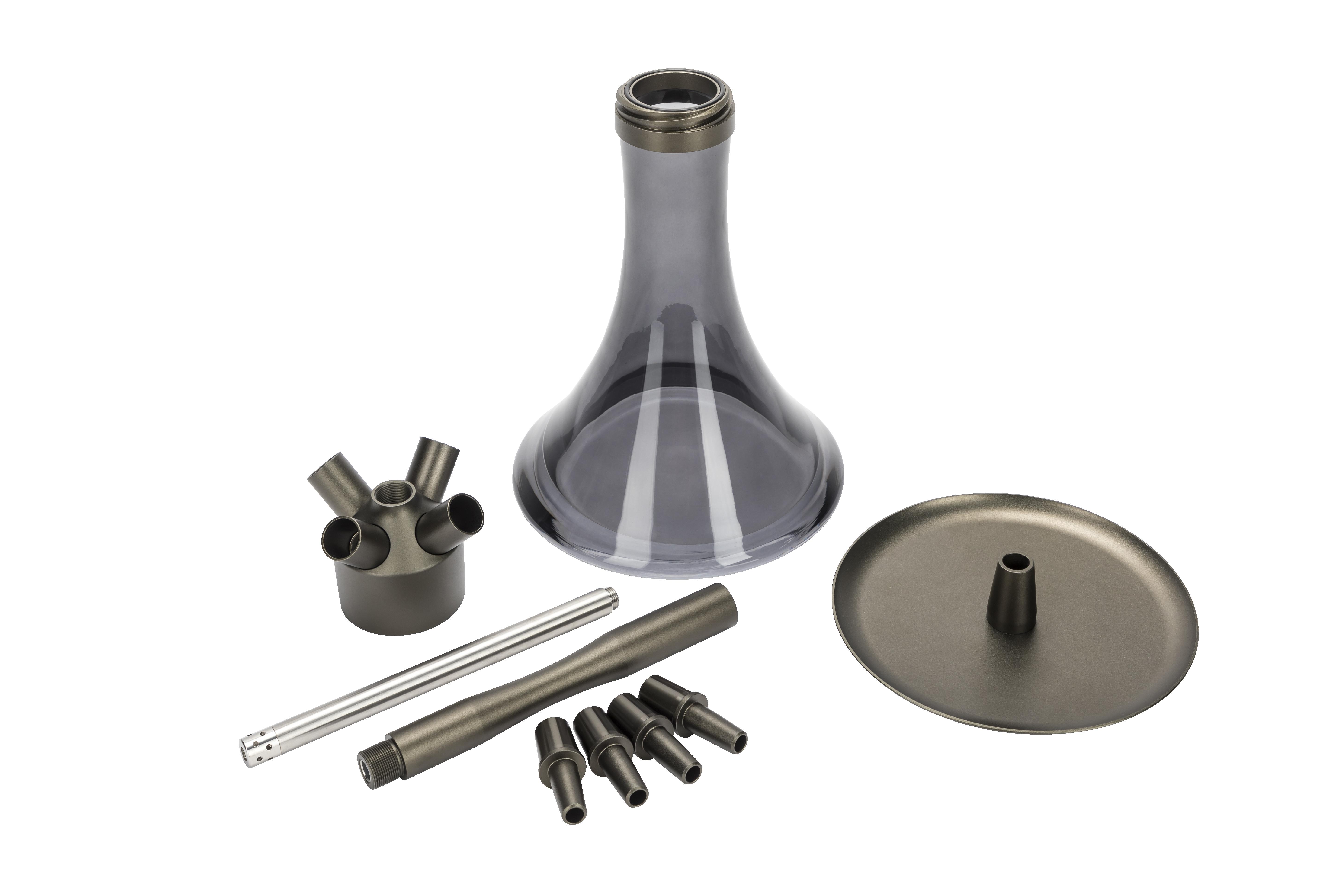 MOE'S WANTED M1 - Aluminium Anthrazit matt / Anthracite matt