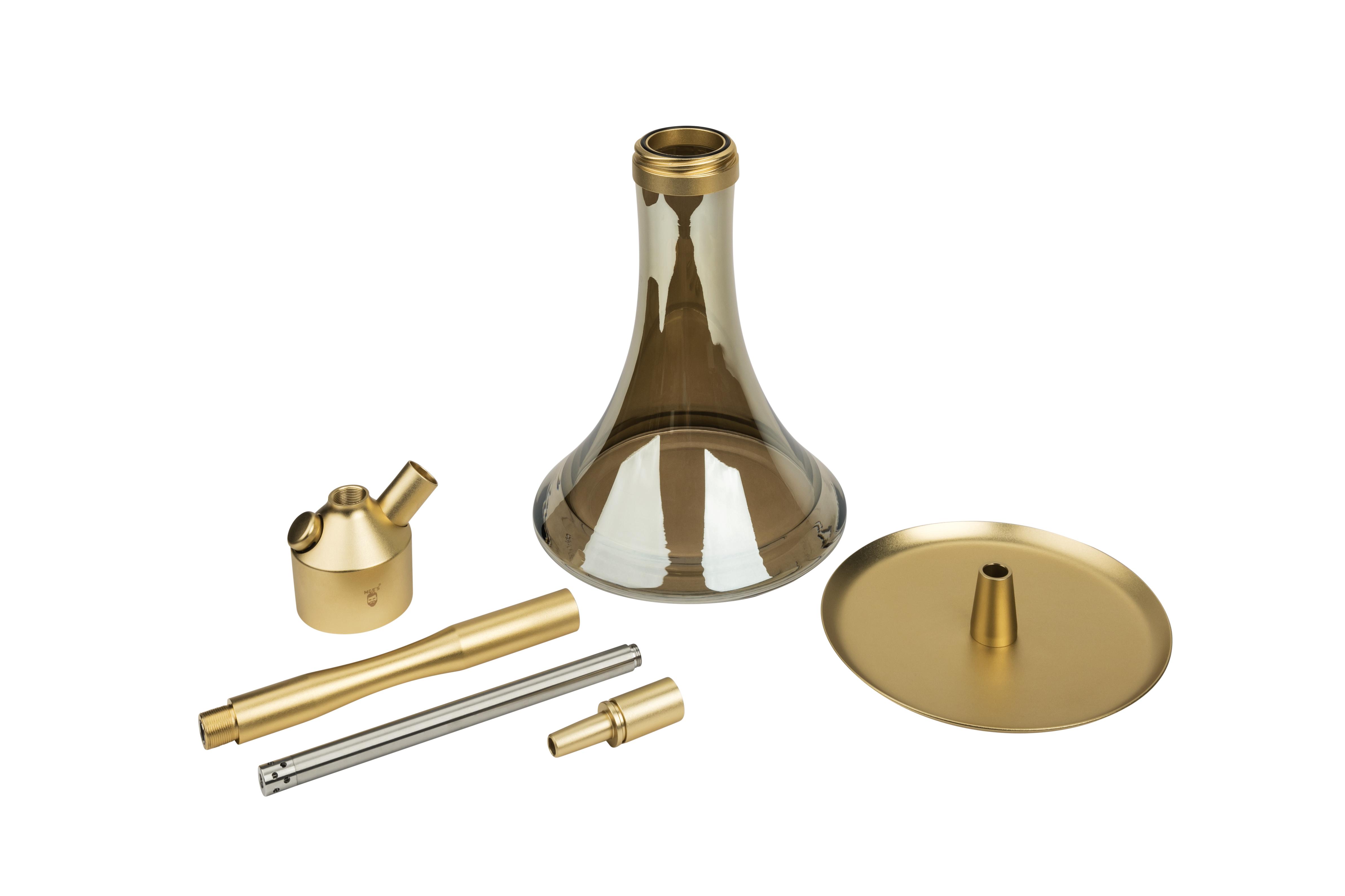 MOE'S WANTED 2U M1 - Aluminium Gold matt -  KOMPLETT SET