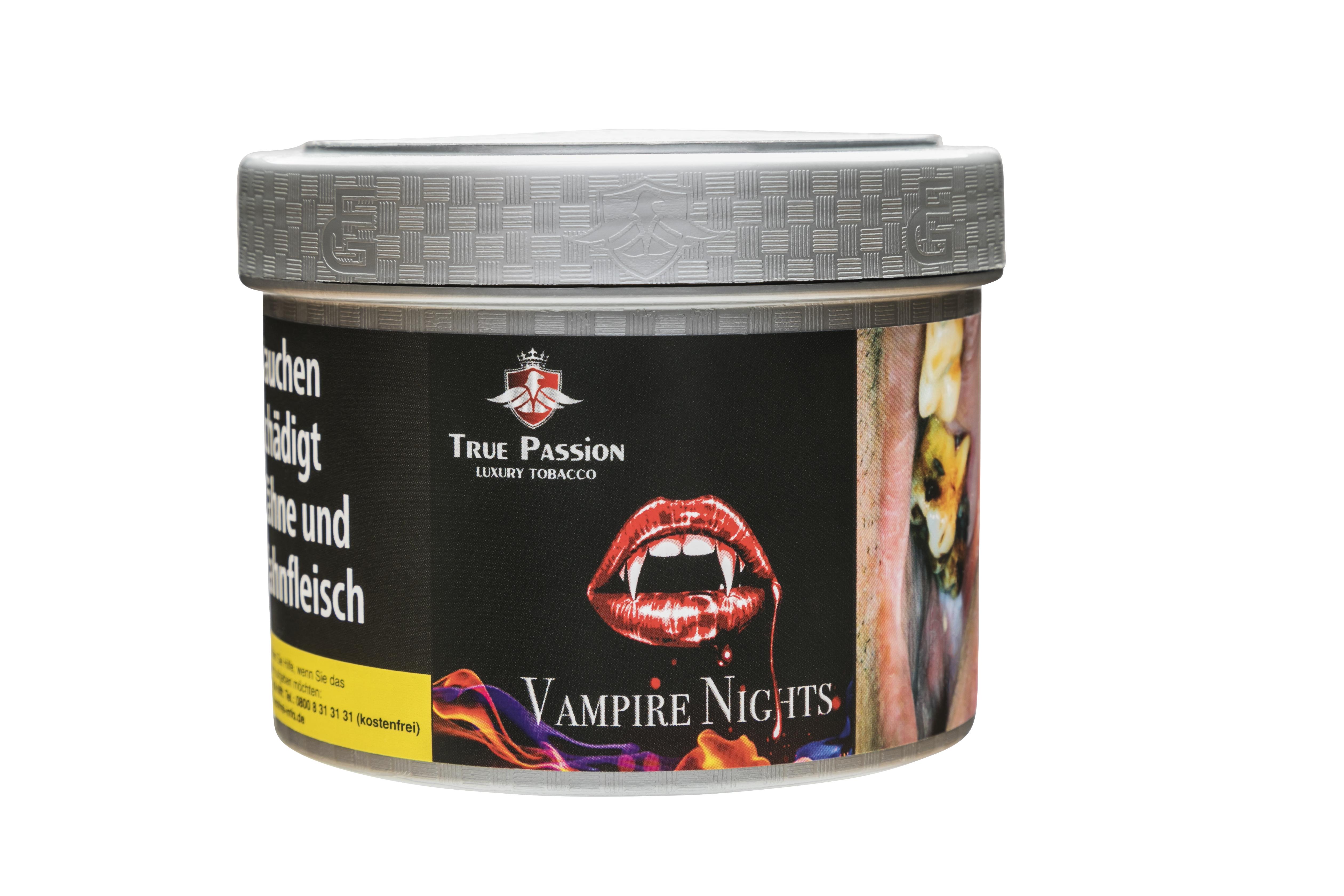 """True Passion """"Vampire Night"""" SHISHA TABAK"""