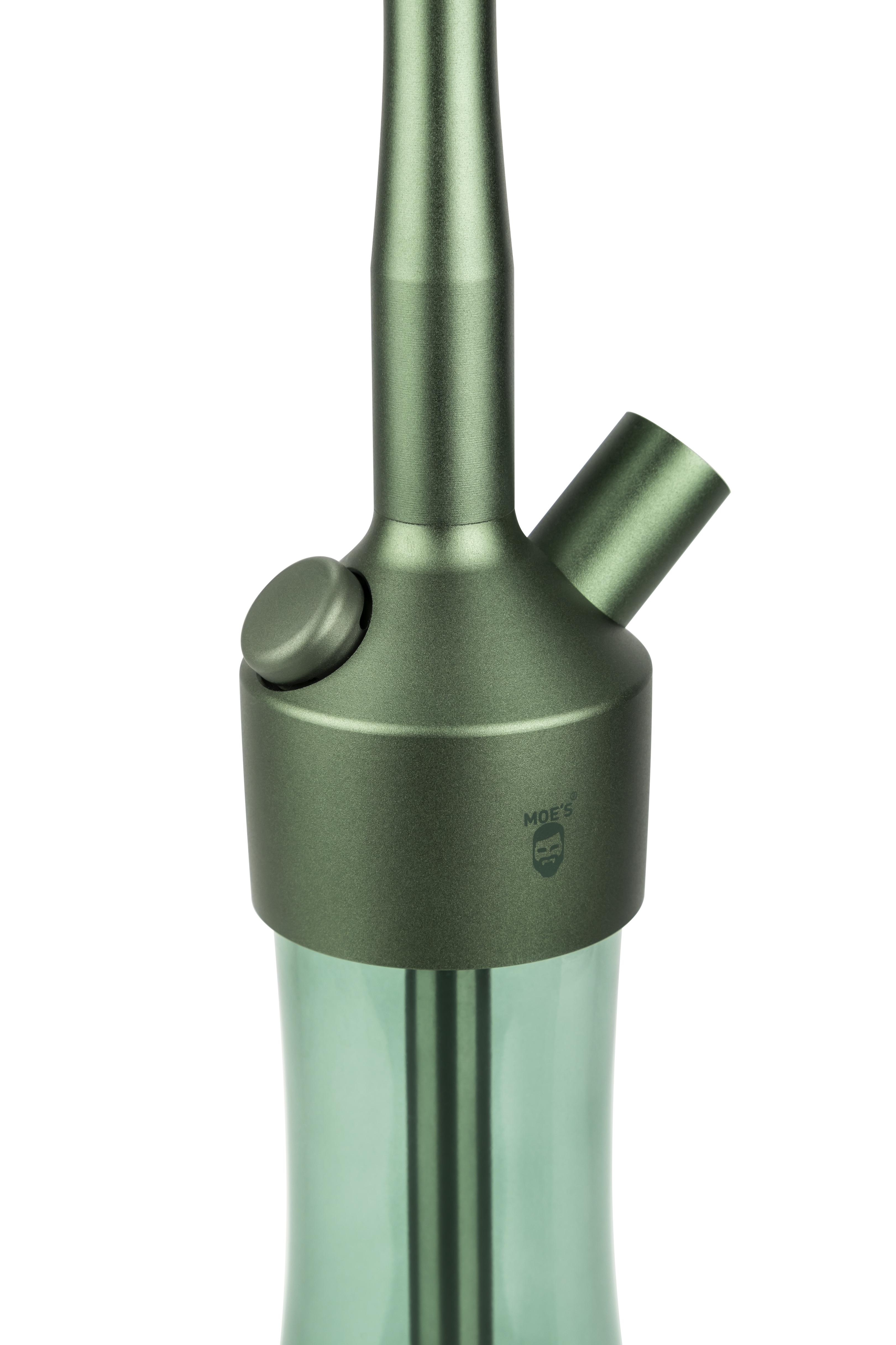 MOE'S WANTED 2U M1 - Aluminium Grün matt -  KOMPLETT SET