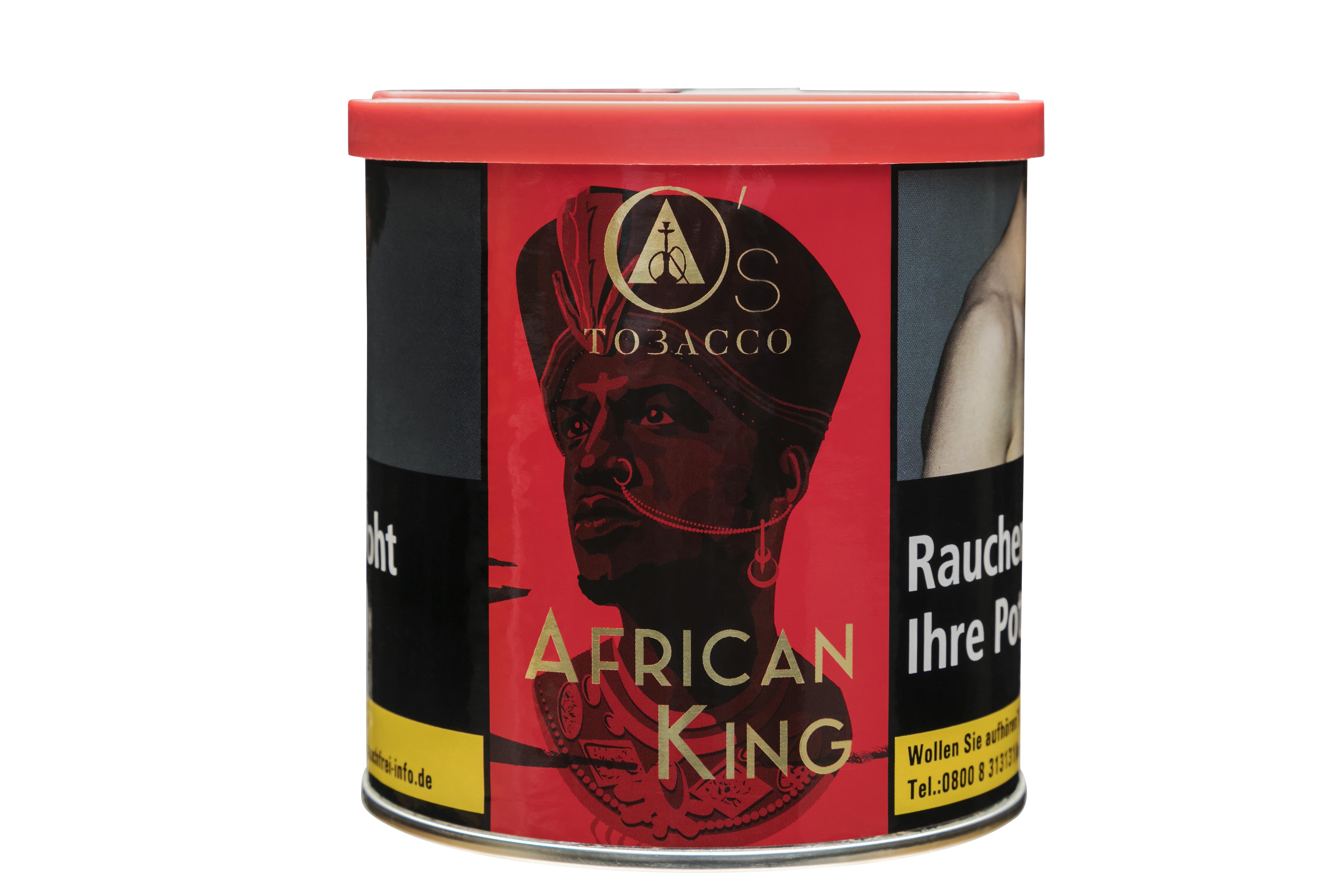 """O's """"African King"""" SHISHA TABAK"""
